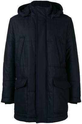 Eleventy padded hood jacket