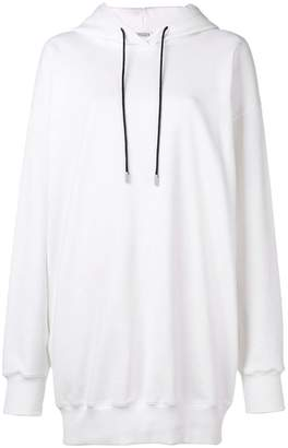 Krizia long basic hoodie