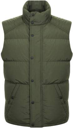 Belstaff Otterburn Down Gilet Green