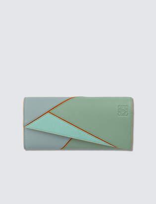 Loewe Puzzle Continental Wallet