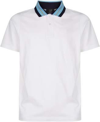 Dunhill Contrast Collar Polo Shirt