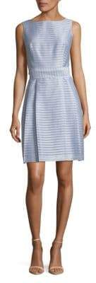 Jones New York Striped Fit-and-Flare Dress