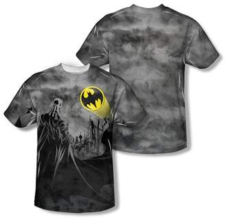 Batman Men's Heed The Call Sublimation T-shirt White