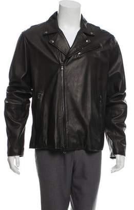 John Varvatos Leather Moto Jacket w/ Tags