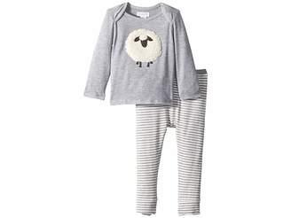 Mud Pie Sheep Two-Piece Playwear Set (Infant)