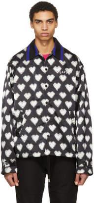 Facetasm Black and White Heart Jacket