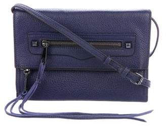 Rebecca Minkoff Leather Fold-Over Crossbody Bag