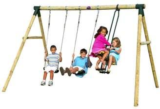 Plum Colobus 2 Piece Swing Set
