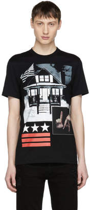 Givenchy Black L.A. House T-Shirt