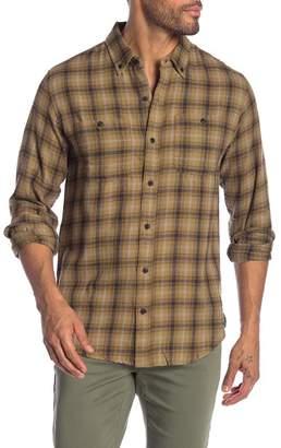 Ezekiel Richard Plaid Long Sleeve Regular Fit Shirt