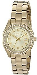 Bulova Women's Quartz and Stainless-Steel Casual Watch, Color:Gold-Toned (Model: 44M108) $46 thestylecure.com
