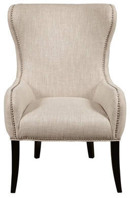 Co Darby Home Seraphine Mink Wing back Chair