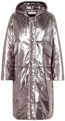 Golden Goose Metallic puffer coat