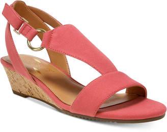 Aerosoles Creme Brulee Wedge Sandals Women's Shoes