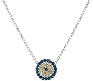 Latelita London - Evil Eye Necklace silver