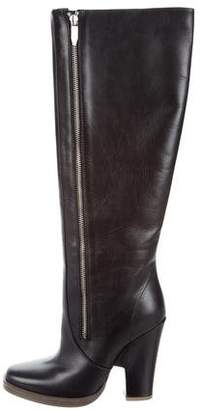 Theyskens' Theory Leather Knee-High Boots