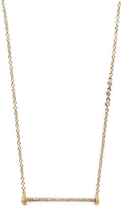 "Paige Novick Diamond Bar Necklace ""Essentials"""
