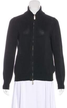 Malo Rib Knit Casual Jacket
