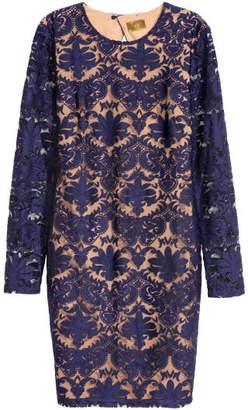H&M Lace Dress - Blue