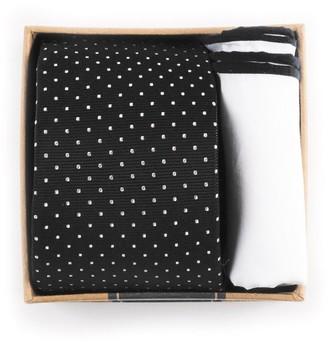 The Tie Bar Black Tie Box