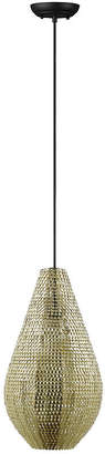 "Walker Edison 20"" Hand-Crafted Drop Style Sparkle Pendant - Gold"