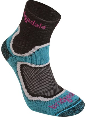 Bridgedale Trail Sport Lightweight T2 Merino Cool Comfort Multi 3/4 Crew Sock - Women's