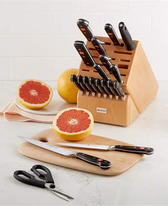 Wusthof Classic 20 Piece Knife Block Set