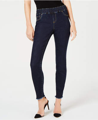 INC International Concepts I.n.c. Petite Frayed Jeggings