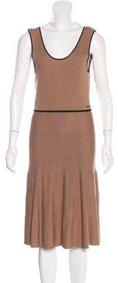 Twin.Set Rib Knit Midi Dress $75 thestylecure.com
