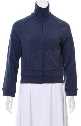 Norma Kamali Zip-Up Knit Sweater