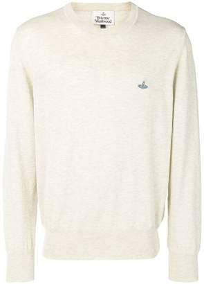 Vivienne Westwood marl knit crew neck jumper