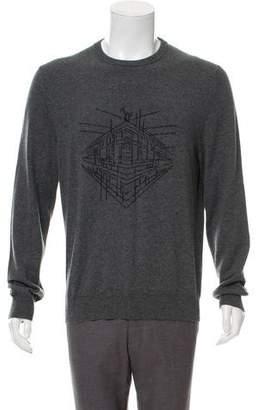 Hermes Cashmere Intarsia Sweater