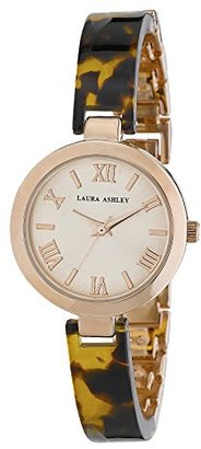 Laura Ashley Women's LA31002TOR Analog Display Japanese Quartz Brown Watch $52.79 thestylecure.com