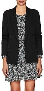 Isabel Marant Women's Leroy Wool Double-Breasted Blazer - Black
