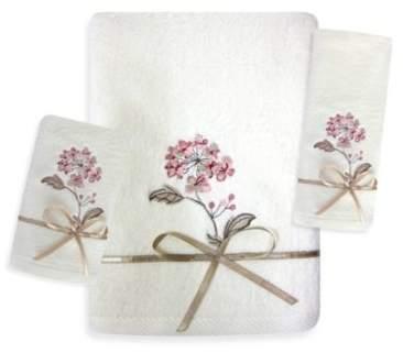 Christina Fingertip Towel in Rose