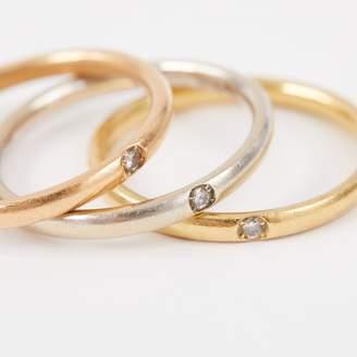Pomellato Lucciole yellow gold ring