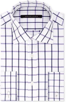 Sean John Men's Classic/Regular Fit French Cuff Dress Shirt $69.50 thestylecure.com