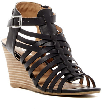 Report Sonora Caged Wedge Sandal $60 thestylecure.com
