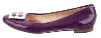 Kate SpadeKate Spade New York Embellished Round-Toe Flats