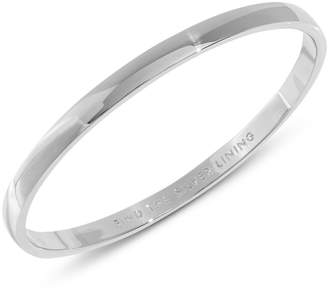 Kate Spade Find the Silver Lining Idiom Bracelet