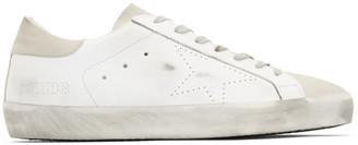 Golden Goose White Skate Superstar Sneakers
