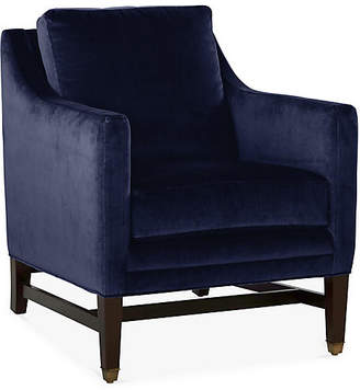 Michael Thomas Collection Arden Club Chair - Midnight Velvet