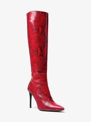 Michael Kors Vesey Python Boot