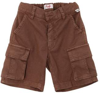 Il Gufo Stretch Cotton Oxford Cargo Shorts