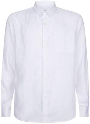 Derek Rose Linen Shirt with Pocket