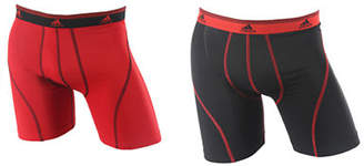 adidas Sport Performance Climalite 2 Pack Boxer Brief