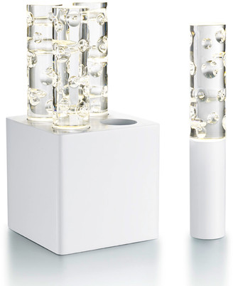 Baccarat Jallum Pontil 1-Light, White