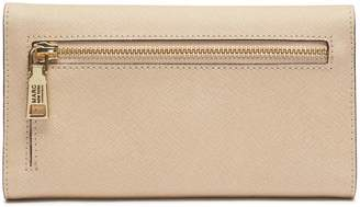 Andrew Marc MONTAUK SAFFIANO LEATHER FLAP OVER WALLET