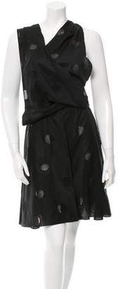Alaia Sleeveless Eyelet Dress w/ Tags
