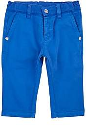 Versace KIDS' STRETCH-COTTON TROUSERS